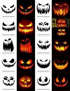 Easy, Scary, Pumpkin, Carvings