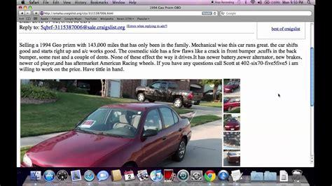 craigslist omaha  cars  trucks  sale  owner
