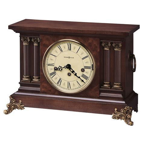 howard miller curio howard miller circa antique styled mantel clock 630212