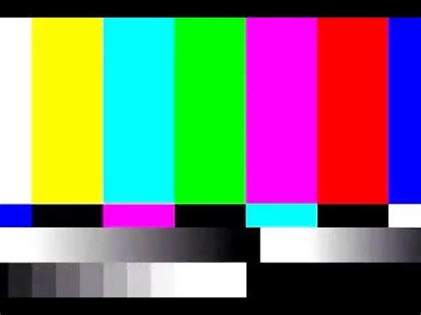 color bars tv tv static and color bar