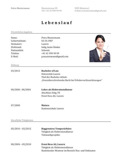 Lebenslauf Aktuell Vorlage by Curriculum Vitae Cv 77 Lebenslauf Muster Vorlagen 2019 Ld