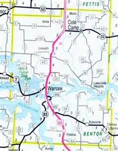 Benton County Missouri Map