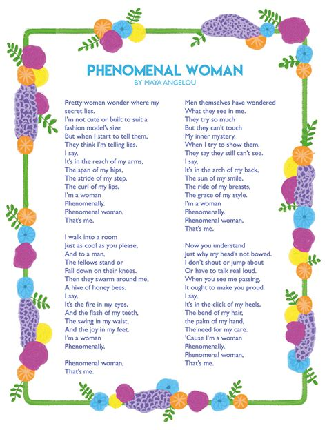 Virtuous Woman Maya Angelou Poems