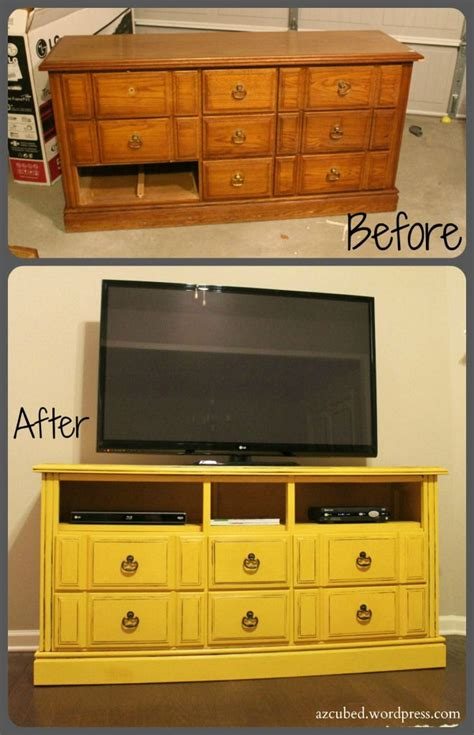 turn   dresser   fabulous tv stand diy crafts