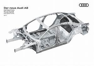 Audi เปิดโครงรถ Audi A8 ใหม่ ผสานที่สุดความล้ำด้วย ...