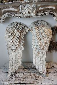 Treppe Shabby Chic : ailes d 39 anges shabby chic my angels pinterest ~ Frokenaadalensverden.com Haus und Dekorationen