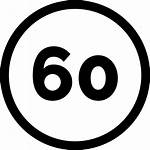 Icon Speed Limit Icons