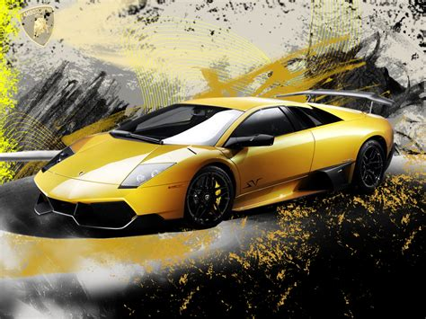 Wallpaper Car Yellow by Cool Yellow Wallpaper Wallpapersafari