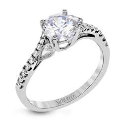 white gold engagement rings 500 mr2832 engagement ring simon g jewelry