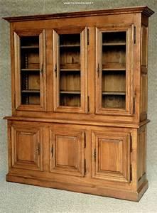Bibliotheque Chene Massif : bibliotheque en chene de style rustique louis xiii ~ Teatrodelosmanantiales.com Idées de Décoration