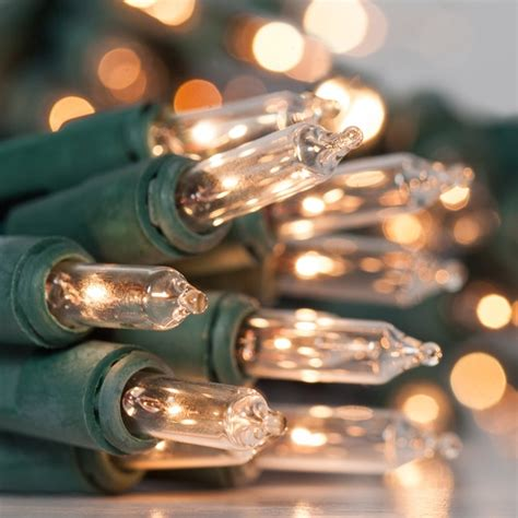 battery operated christmas lights  clear battery