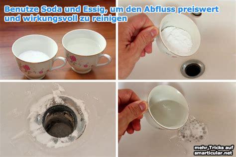abflussreiniger preiswert aus soda und essig smarticularnet