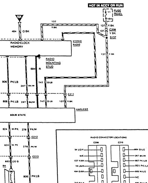 Need Radio Wiring Diagram For Ford Ranger Xlt
