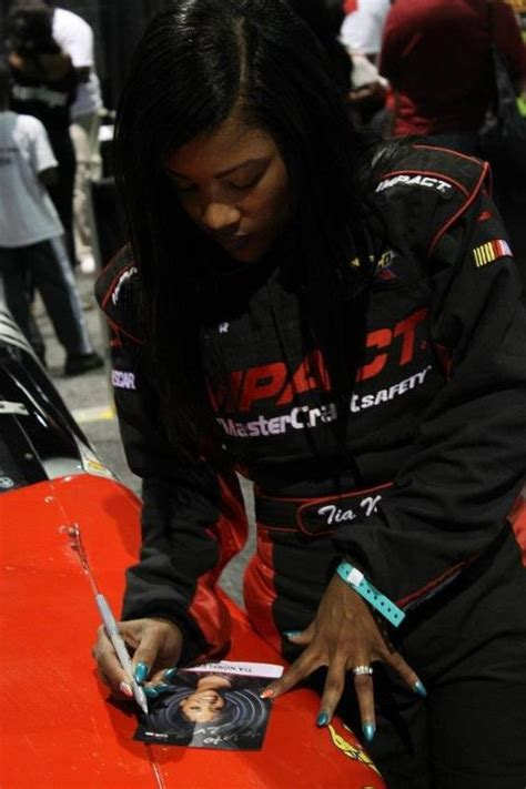 First African American Female Race Car Driver