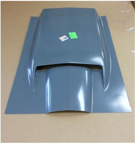 corvette scoop hood hand layup  big block