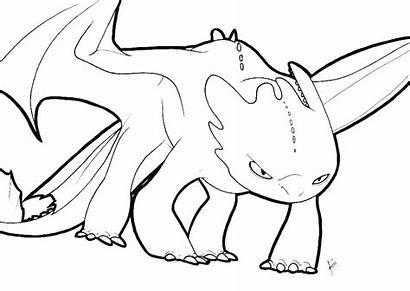 Coloring Dragon Pages Toothless Train Fury Printable