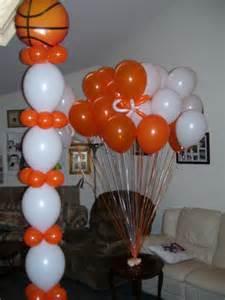 Basketball Balloons Decorations
