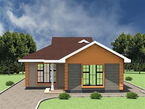 Low cost 2 bedroom house plan in Kenya HPD Consult