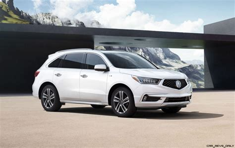 Hybrid Acura by 2017 Acura Mdx Sport Hybrid Leads Updated Range 50 Images