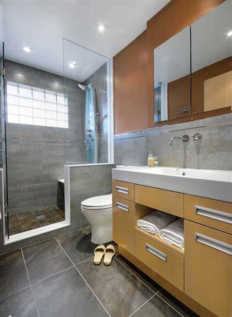 remodel ideas for small bathrooms ไอเด ยการตกแต งห องน ำส ดช คในโทนส ดำ แนวการตกแต งบ าน