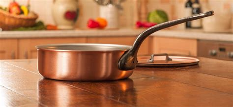 falk culinair saute pan  images copper cookware kitchen cookware copper pans