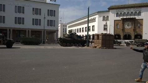 siege du parlement maroc photos des véhicules militaires encerclent le