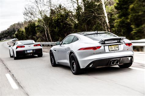 2015 Jaguar F-type And 2014 Chevrolet Corvette Head To