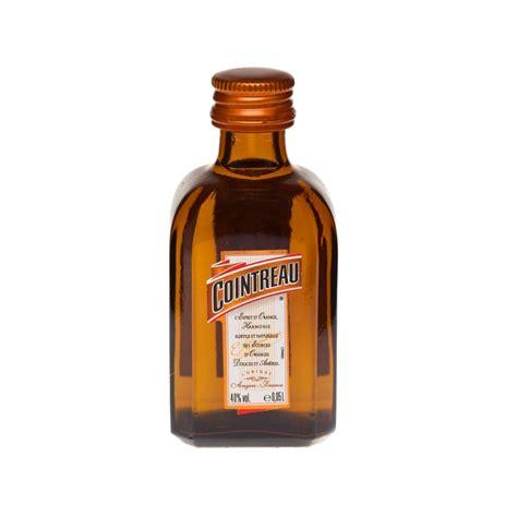 orange liqueur cointreau triple sec orange liqueur miniature 5cl just miniatures
