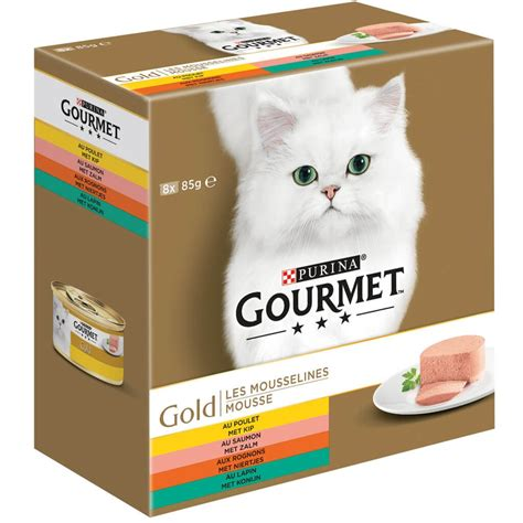 gourmet gold  pack moussehuhnlachsnierenkaninchen