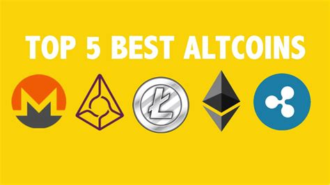 Top 5 Best Altcoins 2017 Youtube