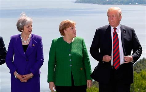 Boris johnson had to tell german chancellor angela merkel to mute after she accidentally interrupted the prime minister as he began the first virtual g7 meeting. No breakthrough at G7 summit - but US and EU take small ...