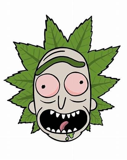 Morty Rick Trippy Disegni Di Marijuana Drawing