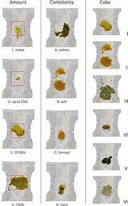 Baby Feeding Chart Infant Stool Form Scale Development And Results The