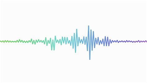sound waves moving graphic illustration motion background