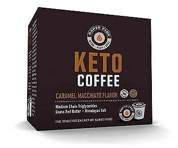 Rapid fire keto coffee — supercharge your morning! Rapid Fire Keto Coffee - Caramel Macchiato pods 35046108816 | eBay