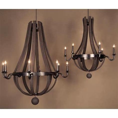 barrel chandelier lighting 17 best images about wine barrel chandelier for a rustic