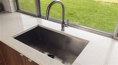kitchen sink materials pros cons