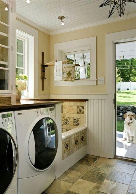 laundry room  dog wash basin dream home interior