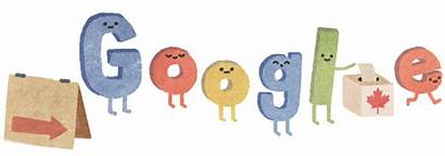 Doodles Canada Elections Google Logos