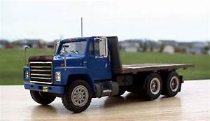 International S Series Lumber Delivery Truck