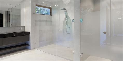 frameless shower screens pinnacle glass aluminium
