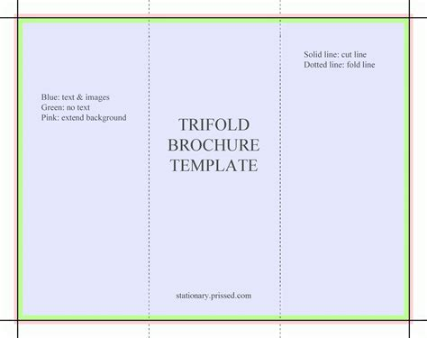 trifold template docs docs tri fold brochure template the best templates collection