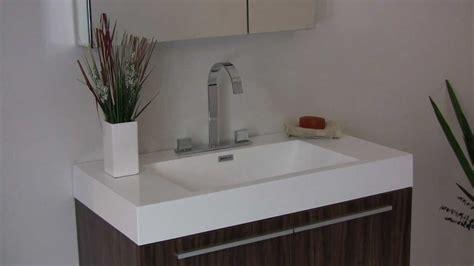 fresca vista walnut modern bathroom vanity  white
