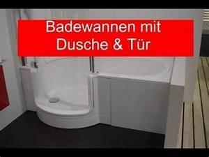 Badewanne Mit Dusche Integriert : badewanne mit dusche und t r youtube ~ Sanjose-hotels-ca.com Haus und Dekorationen