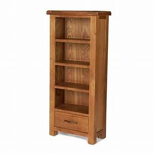 Rushden Solid Oak Furniture CD DVD Rack