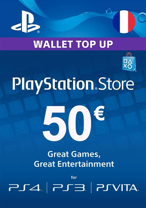 acheter carte playstation network  france playstation