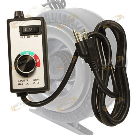 variable fan speed controller variable fan speed controller hydroponic inline vortex