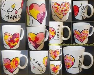 Tasse Fete Des Meres : une tasse pour maman ateliers creatifs pinterest coton tige peinture porcelaine et tiges ~ Teatrodelosmanantiales.com Idées de Décoration