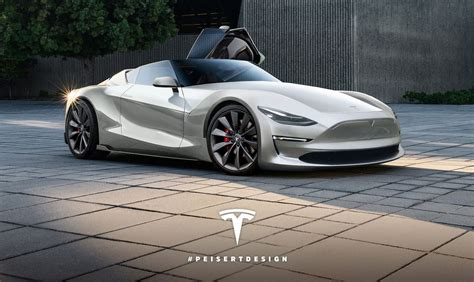 2019 Tesla Roadster Rendered  Will The Real Roadster Look