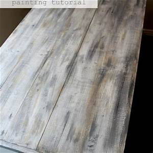 20 diy faux barn wood finishes for any type of wood for Best brand of paint for kitchen cabinets with metal disc wall art